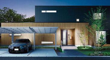 シンプルデザインでさまざまな住まいに調和。