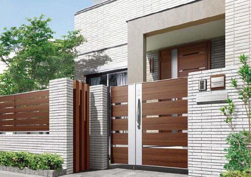 門扉・フェンスは、豊富なデザインをラインアップ。